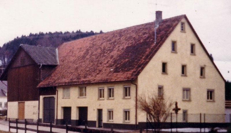 Haus Moriz, Münstergasse 10 vorher