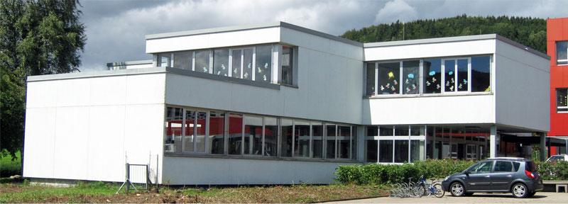 Ansicht Schule Geisingen Bauabschnitt II