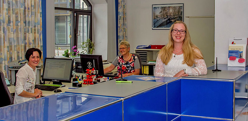 Kerstin Ball, Gudrun Buss und Ilona Gerdt
