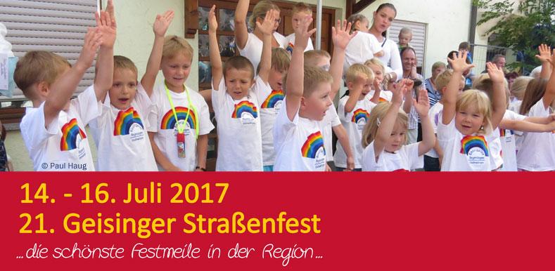 21. Geisinger Straßenfest