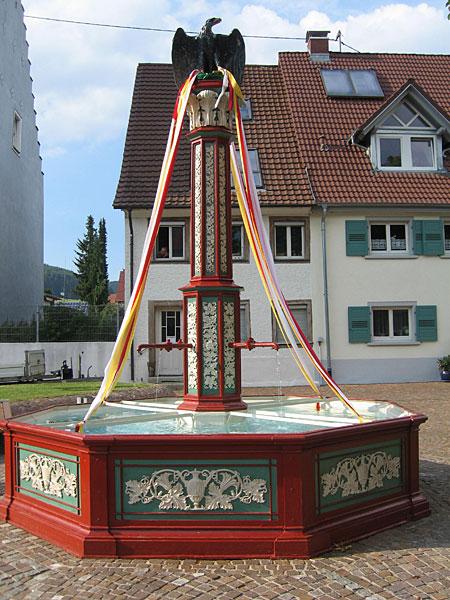 Einweihung Ochsenbrunnen - Brunnen