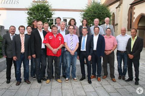 Mitglieder des Gemeinderates der Stadt Geisingen