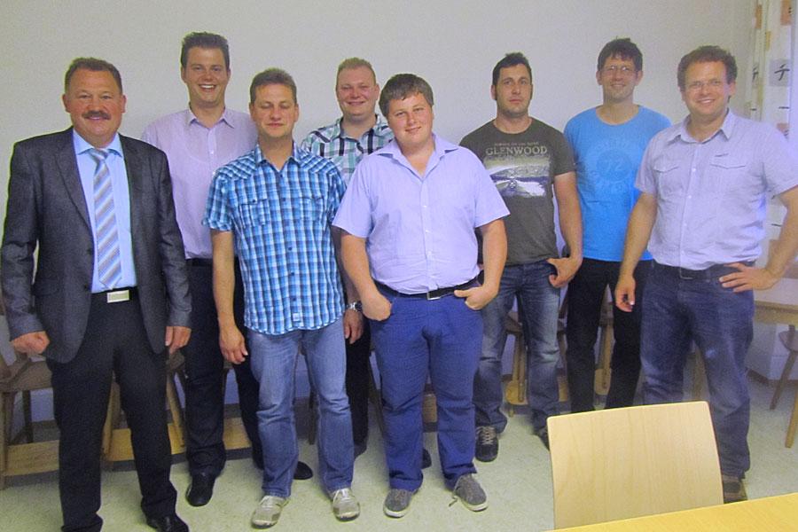 Mitglieder des Ortschaftsrates Aulfingen