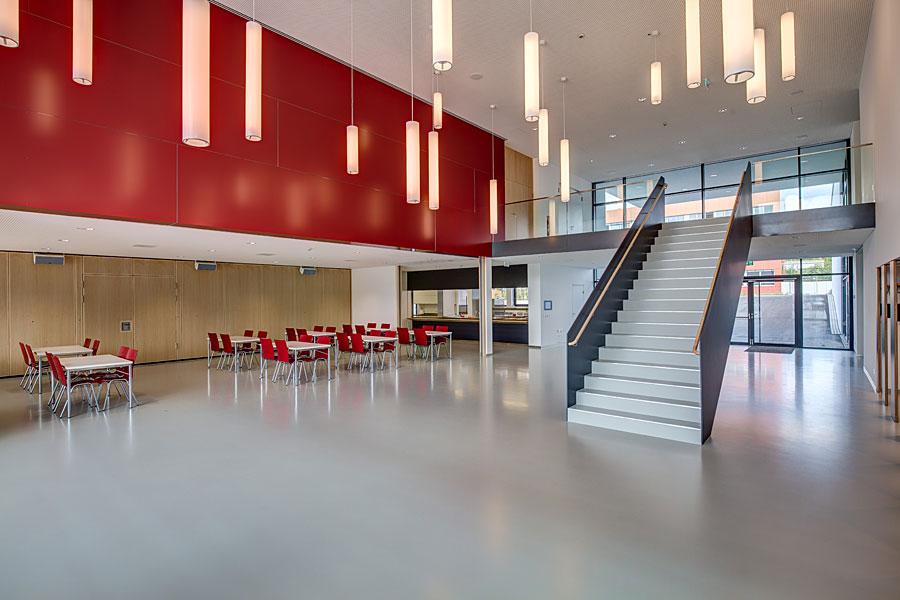 Stadthalle Geisingen Foyer