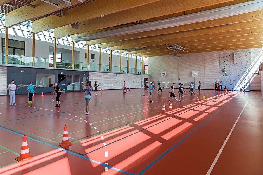 Stadthalle Geisingen Sporthalle