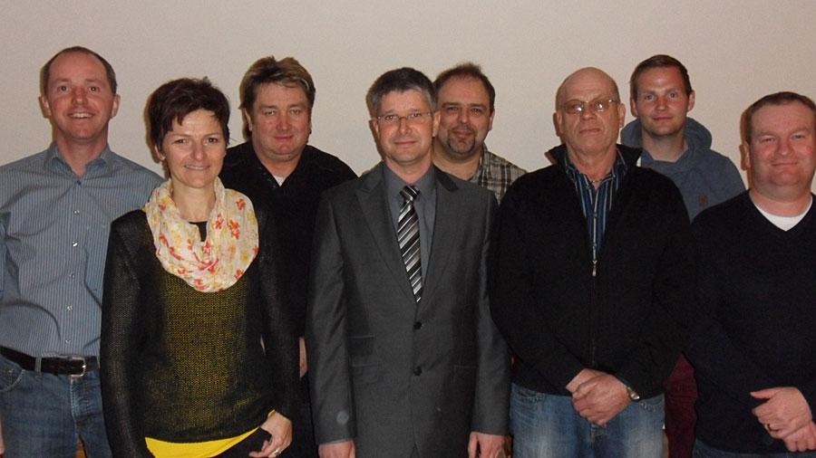 Mitglieder des Ortschaftsrates Leipferdingen