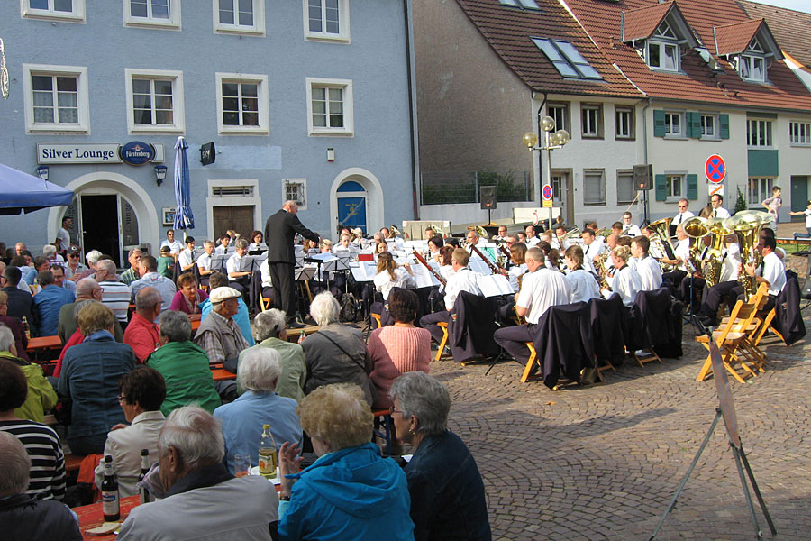 Einweihung Ochsenbrunnen - Stadtmusik