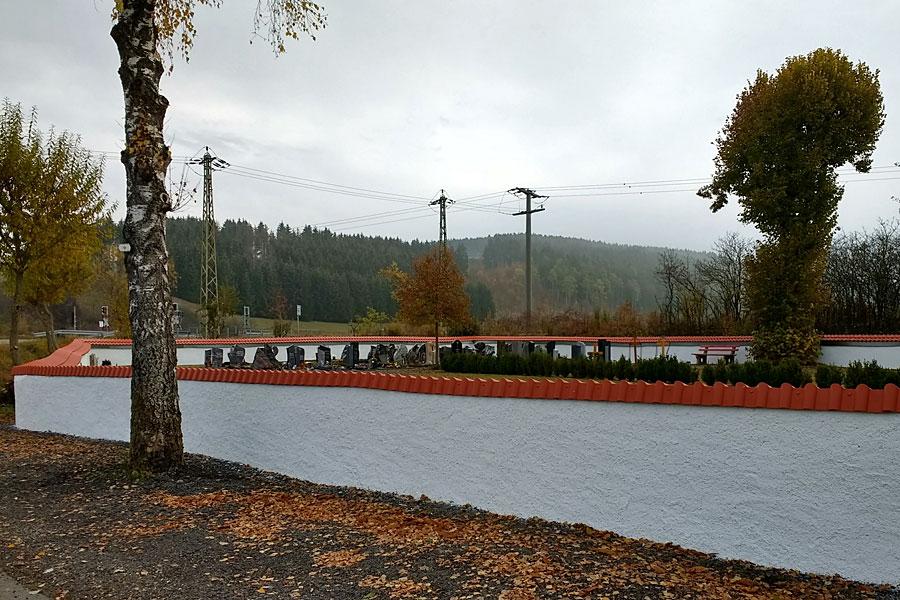 Friedhofsmauer Aulfingen