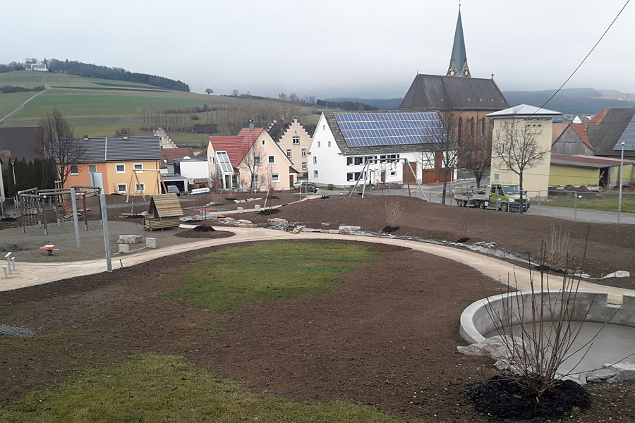 "Mehrgenerationenplatz ""Am Kirchenbach"" Gutmadingen"