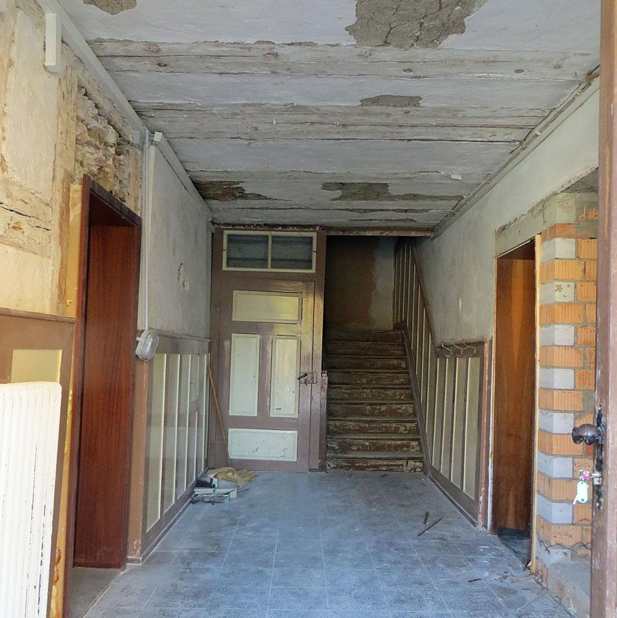 Sanierung Rathaus Gutmadingen - Treppenhaus