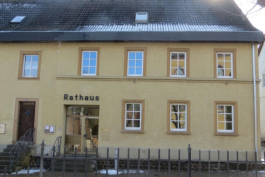 Sanierung Rathaus Gutmadingen - Fenster