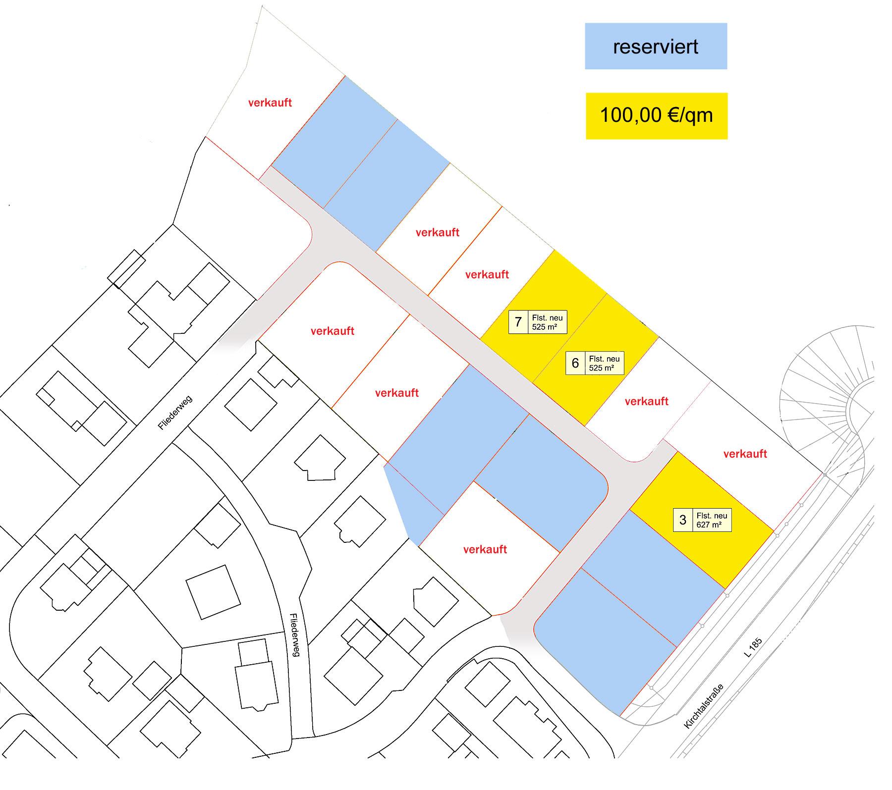 Baugebiet Roosgarten Nordost Aulfingen