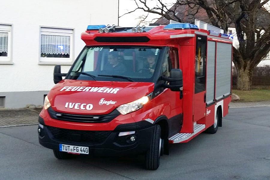 Neues Feuerwehrfahrzeug der Freiwilligen Feuerwehr Aulfingen