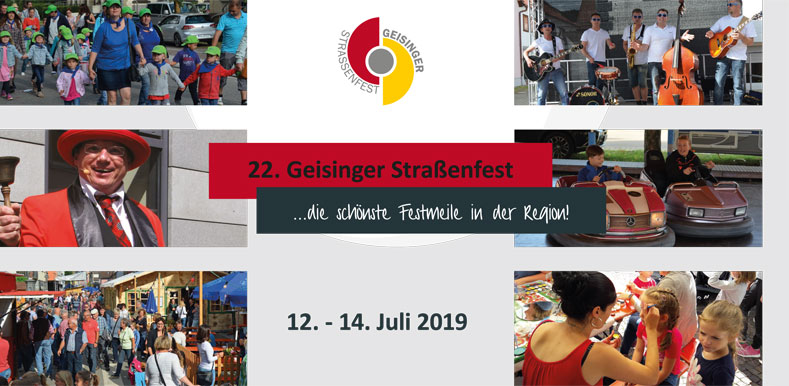 Ankündigung Straßenfest 2019