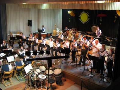 Jugendblasorchester beim Jahreskonzert 2010