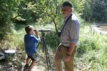Radtour mit Vogelbeobachtung