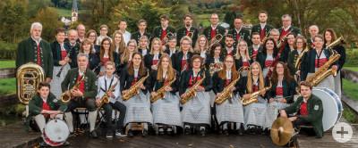 Gruppenfoto Donaumusikanten Gutmadingen