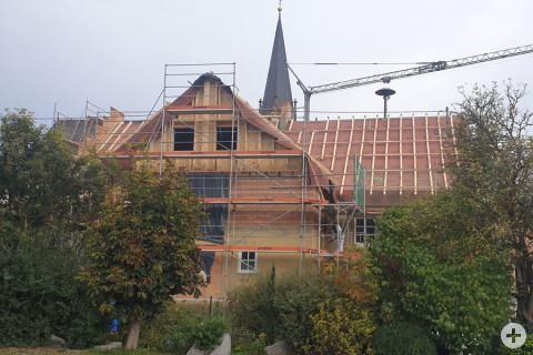 Rathaus Gutmadingen - Ansicht von hinten