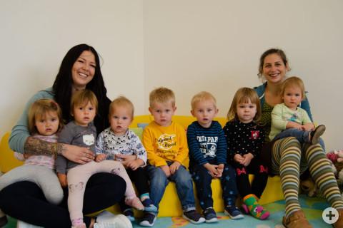 Julia Appelles mit Kindern