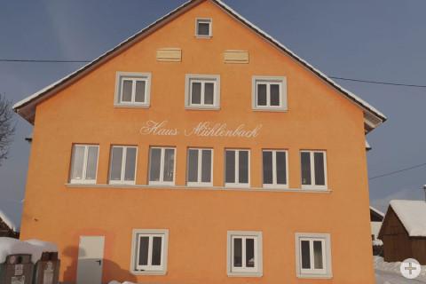 Ansicht Haus Mühlenbach in Leipferdingen.