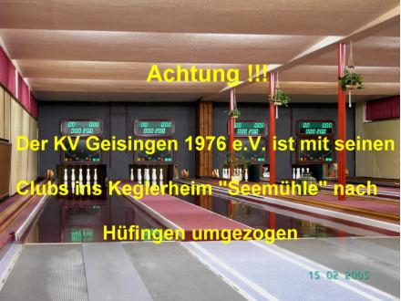 """Kegelbahnen """"Seemühle"""""""