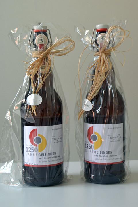 2 Flaschen Jubiläumsbier