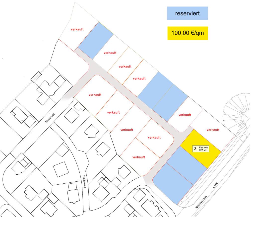 """Baugebiet """"Roosgarten"""" Aulfingen"""