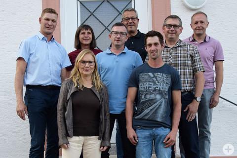 Dr. Christoph Moriz, Angelika Hötzer, Ramona Elsäßer, Thomas Volk, Roland Zirell, Jochen Reußenzehn, Uwe Kraft, Ewald Stihl