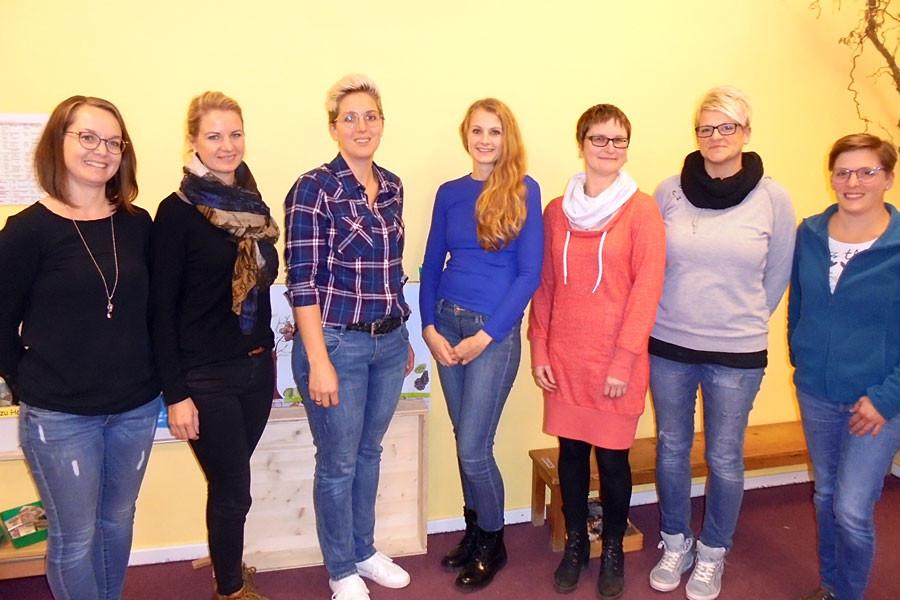 Christina Schwab, Monika Dittus, Kathrin Paulus, Christina Nimser, Katja Fritsch, Anja Wieczorek-Koch, Katharina Münzer