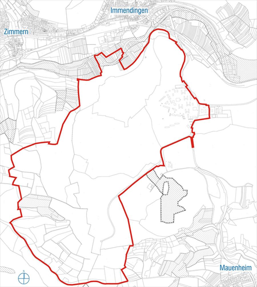 Planskizze Flächennutzungsplan